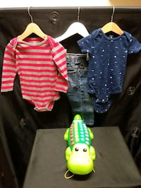 Play & Learn Alligator With 18 months Clothing