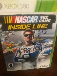 Console game NASCAR The game inside Lane for Xbox 360