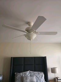 White ceiling fan Ottawa, K1T 3T8