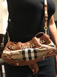 Authentic Burberry with MK strap Vaughan, L6A