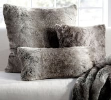 New 3 FAUX fur cushions