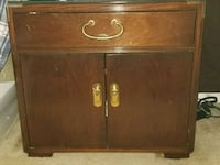brown wooden 2-door cabinet Burtonsville, 20866