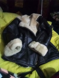 Wilson's leather woman's with fur
