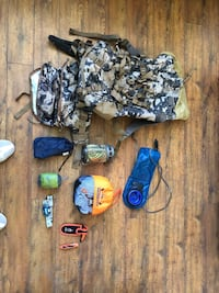 Hunting/Hiking Backpack and material.