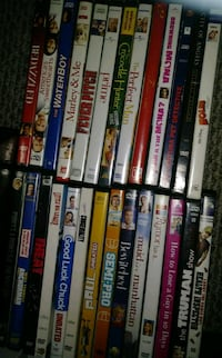assorted DVD movie case lot Silver Spring, 20906