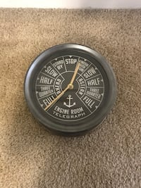Ship themed clock - battery powered  39 km