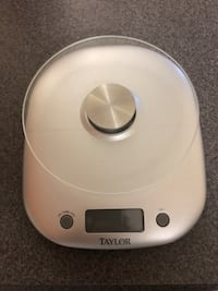 Taylor 11 Pound Capacity Glass Food Scale 3842N-21 Tampa, 33609