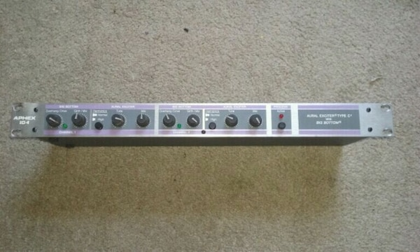 Aphex bass guitar booster