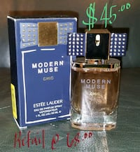 1 fl oz Modern Muse chic bottle with box