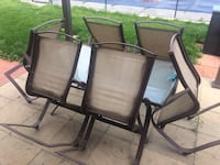Patio set.  6 chairs.  Great condition Mississauga, L4T 2R3