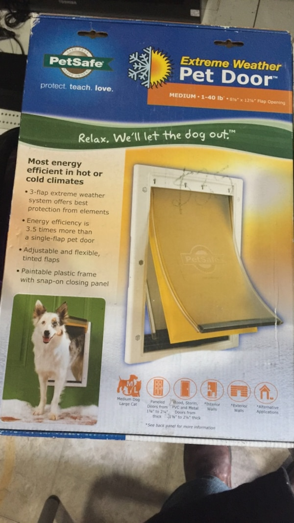 Used Petsafe Extreme Weather Pet Door For Sale In London Letgo