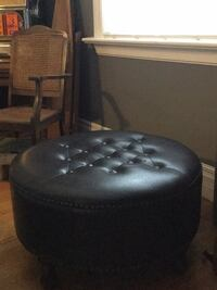 Black foot stool New Westminster, V3L 1T6
