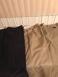 two black and brown pants WASHINGTON