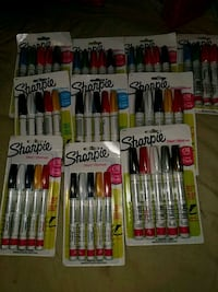 assorted color pen in pack lot