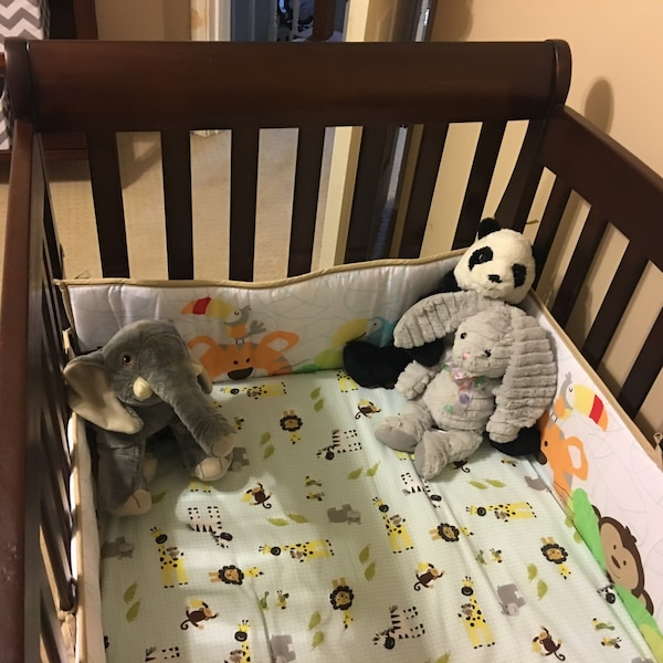 Used Child Of Mine By Carter S Brookline 4 In 1 Convertible Crib For Ming Letgo