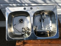 stainless steel sink with faucet St Catharines, L2M 6A9