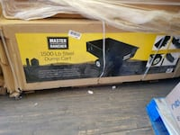 black and yellow Ryobi chainsaw box Regina