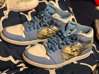 Jordan 1 Retro size 10.5 men's, light use, owned by a collector and I got a couple pair as trade.  Eau Claire, 54701