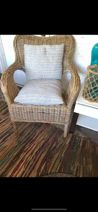 BIRCH LANE RATTAN/WICKER ARMCHAIR - WHITE WASH  Richmond, V7A 1H2