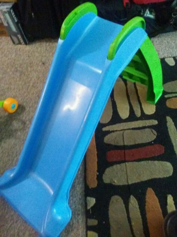 116f6d8716d4 Used blue and green plastic slide for sale in Fargo - letgo