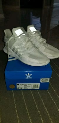 pair of white Adidas NMD shoes Barrie, L4N 8V1