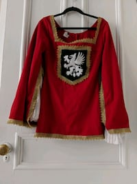 Halloween costume pirate chevalier tunic  Montréal, H4C 2T8