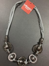 Beautiful fancy necklace OLSEN. Brand new with tag.
