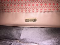 Pink and white floral leather shoulder bag Hamilton, L8J 0K6