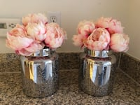 Artificial flowers x2 15each  Los Angeles, 90036