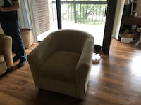 Set of two padded chair. Annandale