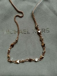 BNWT MICHAEL KORS ROSE GOLD TONED NECKLACE Markham