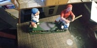 Cast Iron Mechanical baseball Bank 2234 mi