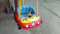 baby's red and blue Little Tikes push walker Ontario