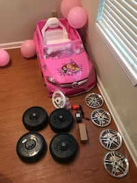 Power Wheel For A Small  Girl Mercedes Version