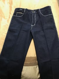 Brand New Jeans Size 34W x 33H. In smoke free and pet free home pickup Kennedy and sandalwood Brampton
