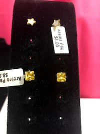 Star/ Yellow Earring Chantilly