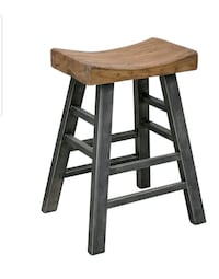 FarmHouse wooden and metal stool Perris, 92570