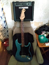 Squire/Fender Bullet Electric Guitar Package