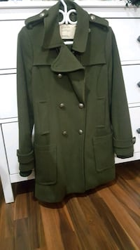Aritzia Community Wool Cadet Coat