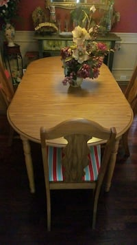 brown wooden dining table set Clarksville, 37043