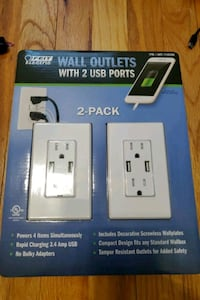 2 pack USB outlets Linthicum Heights, 21090