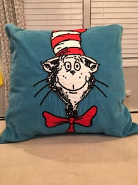 Pottery barn Kids Cat In the Hat Pillow
