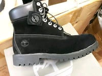 pair of black Timberland work boots Jacksonville, 32209