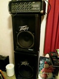 black and gray Peavey   pa amplifier North Wales, 19454