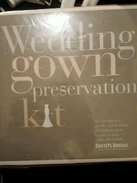 Wedding gown preservation kit free cleaning Las Vegas, 89118