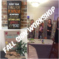 Fall Quote and Welcome Sign Workshops Springwater, L0L