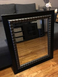 Large Black and Silver mirror West Valley City, 84119