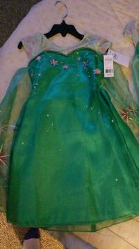 green and blue floral dress Orlando, 32821