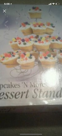 Cupcake stand for parties holds 23 cup cakes Massillon, 44646