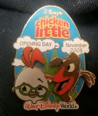 Disney chicken little opening day pin Kissimmee, 34741